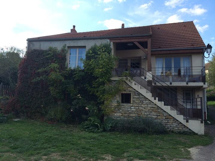 Maison bourguignone (3 chambres)