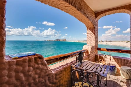 Beachfront Penthouse On Sandy Beach