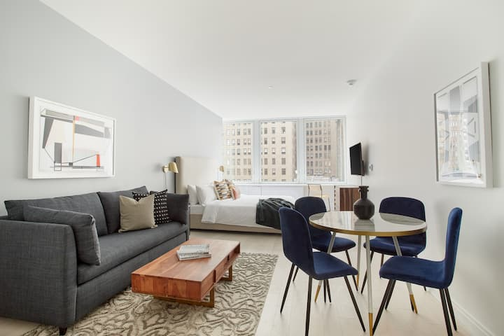 Sonder | Studio in NYC Financial District | Discounted Rates