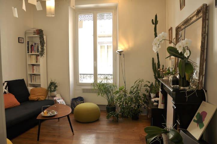 Appartement charmant en plein coeur de Championnet - Grenoble - Appartement