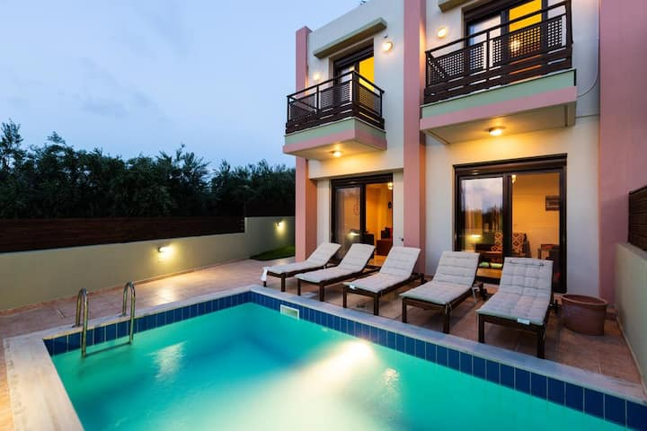 Loutra Three Bedroom Villa With Private Pool
