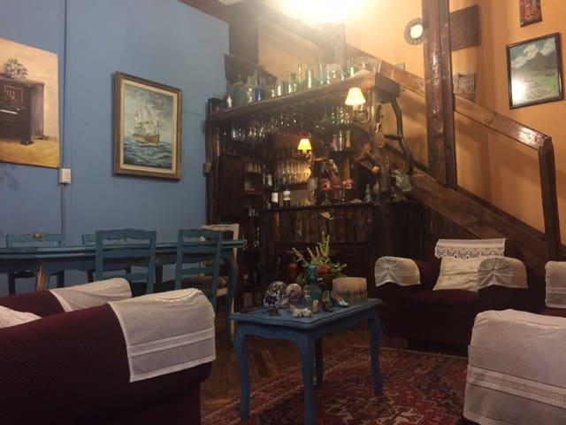 Antique Colonial House in Santiago Downtown - Santiago - Huis