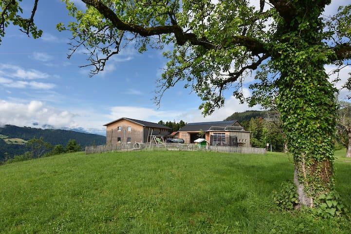 Doppelzimmer mit Panoramablick im Grünen