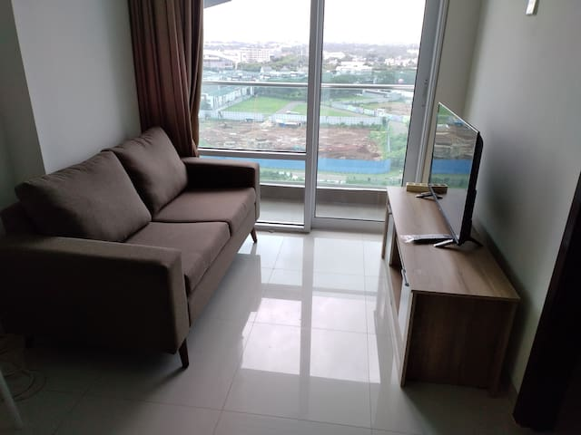 Brooklyn Apartment ,Alam Sutera, 1 BR, 45M2