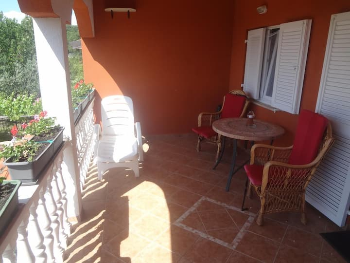 One bedroom apartment with terrace Valica, Umag (A-7122-a)