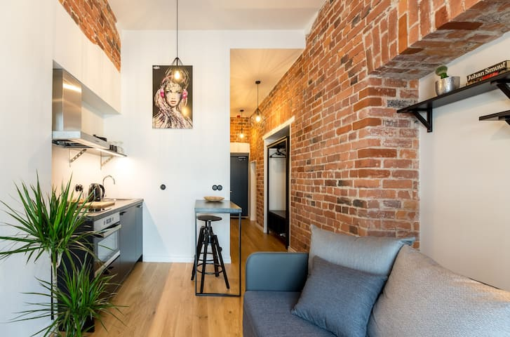 High ceilings, touch of history, near Old Town
