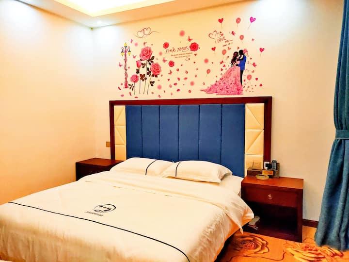 浪漫大床房