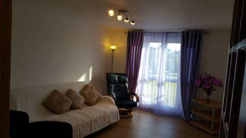 Large bright refreshing doubleroom
