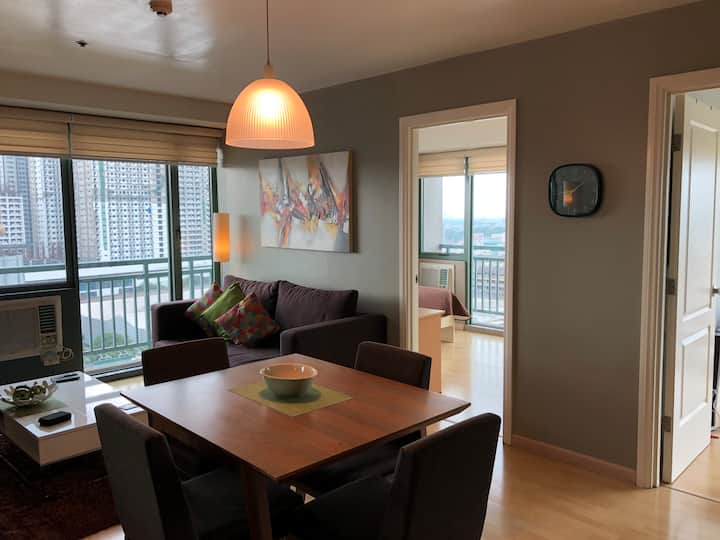2BR Apartment with 2 Bathroom at Soho Central