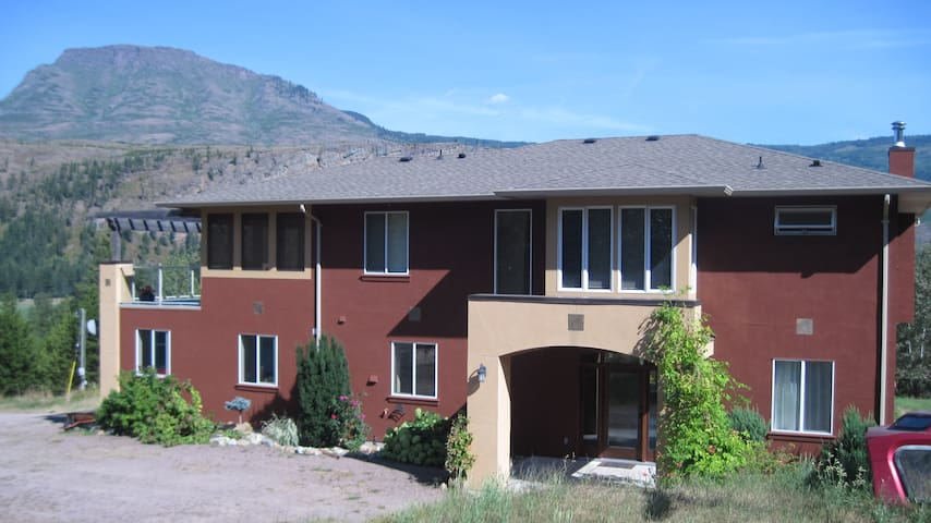 Property with panoramic view - Salmon Arm - Hus