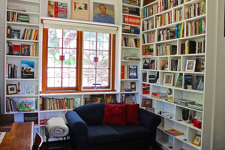 Watermark House-The Library+Views - Leura - Huis