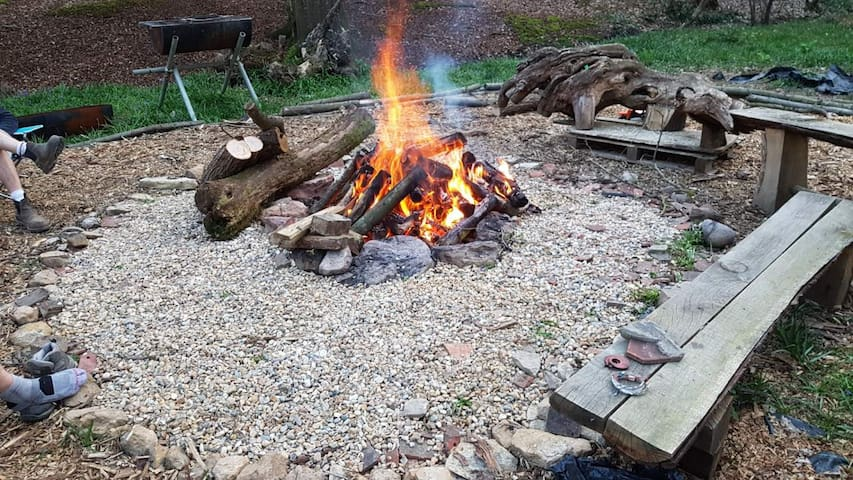 Ringbell Woods Glamping -32 Acre Woodland paradise