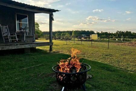 Rustic Rural Cabin