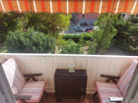 Appartement calme avec Balcons pour 4 personnes