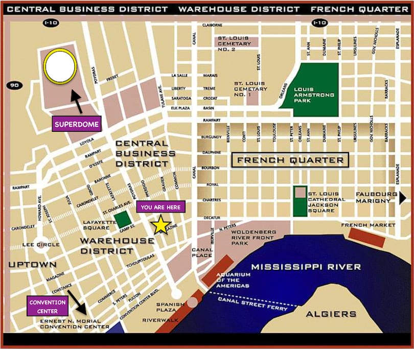We are conveniently located in short walking distance to everywhere !!!