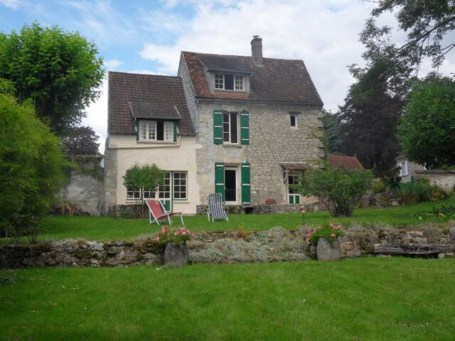 French country house - 50min Paris - Chavençon - Casa