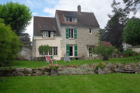 French country house - 50min Paris - Chavençon - Ev