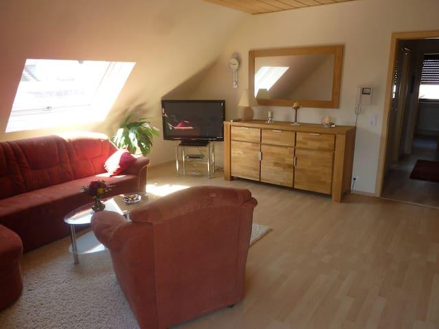 Helle, modern eingerichtete Wohnung,  Nähe Worms - Bobenheim-Roxheim