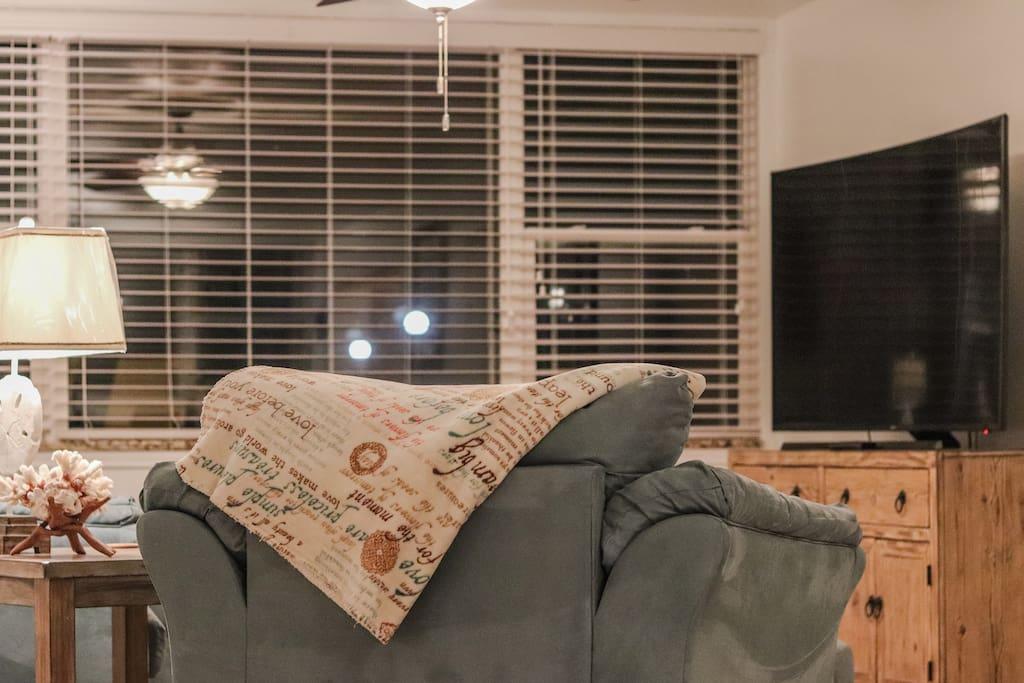 65 inch Curved Ultra HD TV.