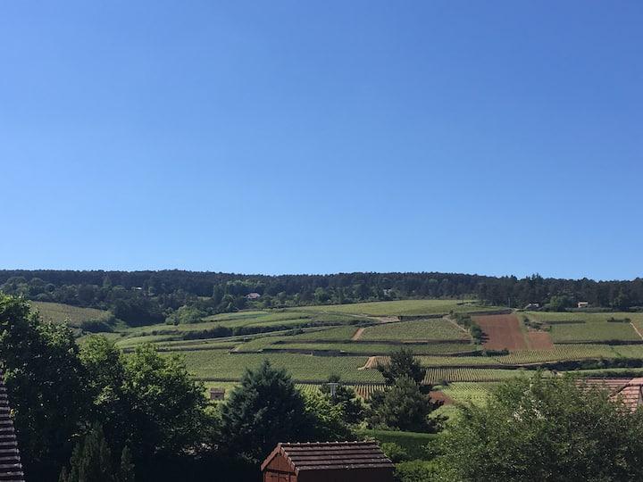 Maison au cœur des vignes