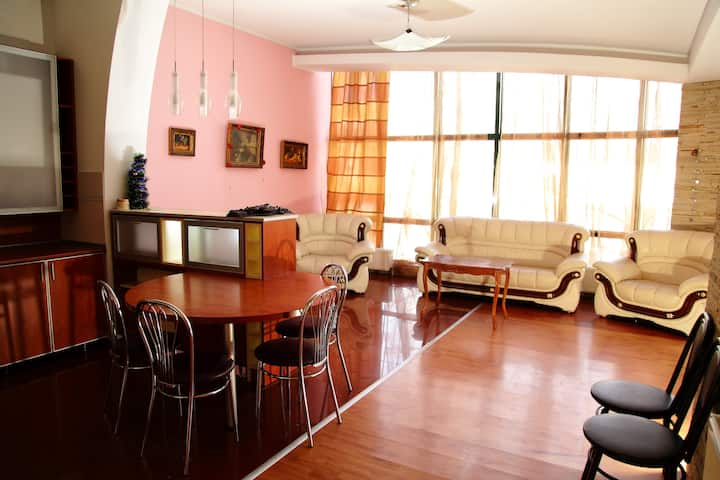 Cosy, spacious apartment in a private building
