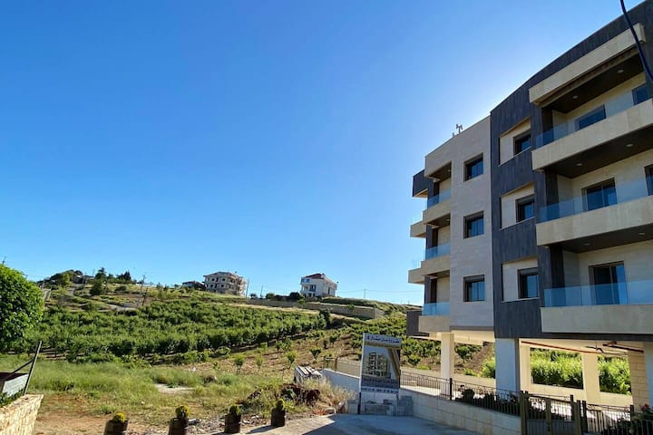 Zahle new apartment with greenery