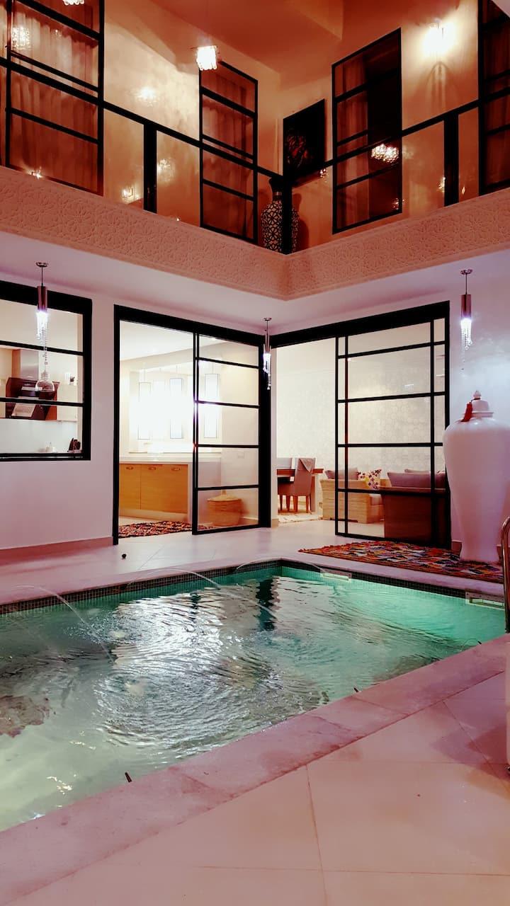 RIAD ET SPA tsar sidi Mimoun luxe marrakech