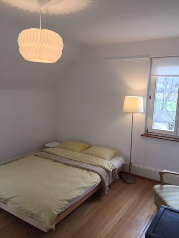 Zimmer in ruhiger, gemütlicher Altbauwohnung