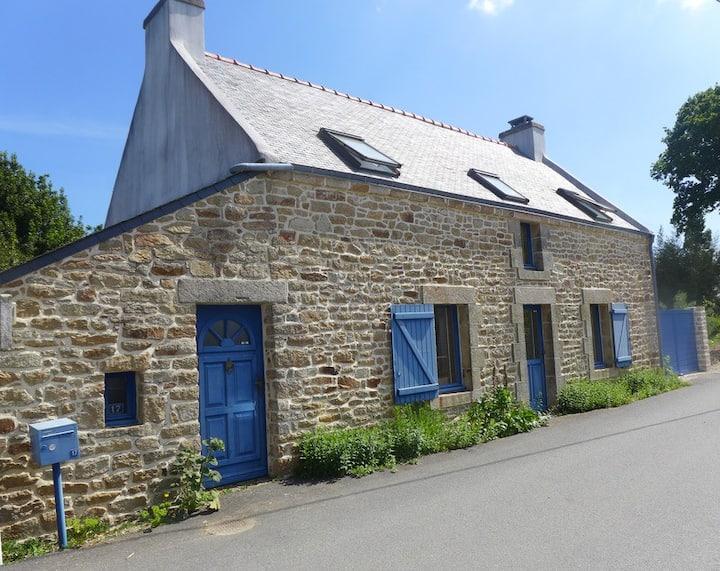 Maison de pêcheur au fond du Golfe du Morbihan