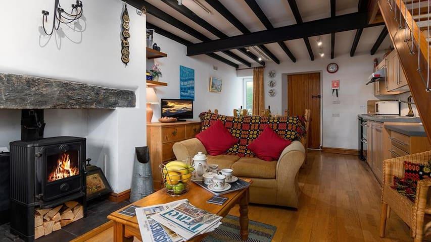 Garthfain Cottage in Dolwyddelan