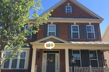 Two bedrooms+Private bath+TV+gym near IAD Airport - Ashburn