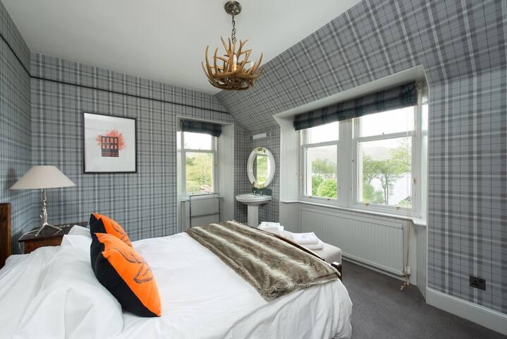 Bedroom 2 - overlooking Loch Awe