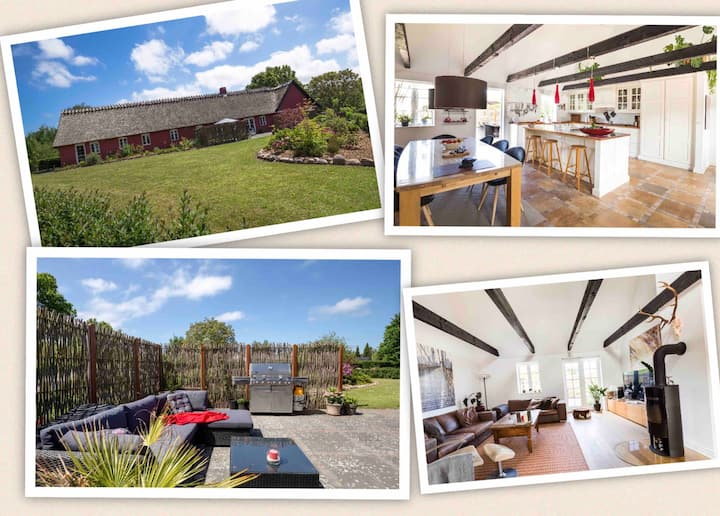 1.  Class Country Farmhouse on 200 m² near beach