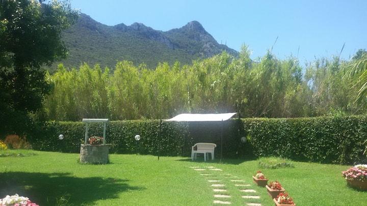Villa in Circeo National Park