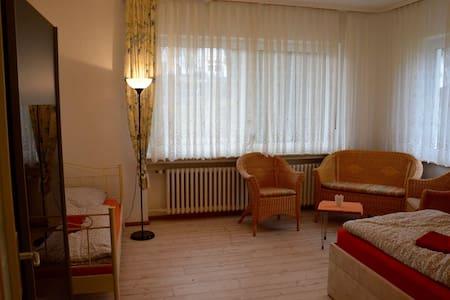 Zimmer in Vierbach City - Wehretal - Ház