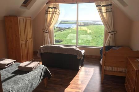 Room overlooking Roaring Water Bay - Ballydehob