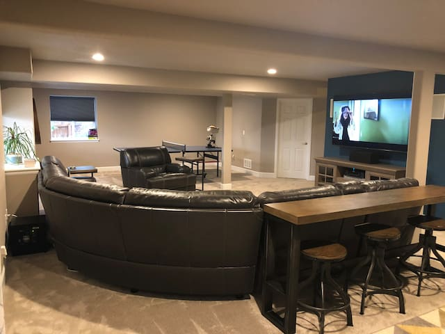 Spacious Basement Apartment with Private Entrance
