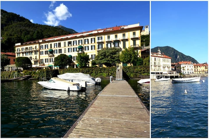 GRAND VISTA lake front in town - Menaggio - Apartment