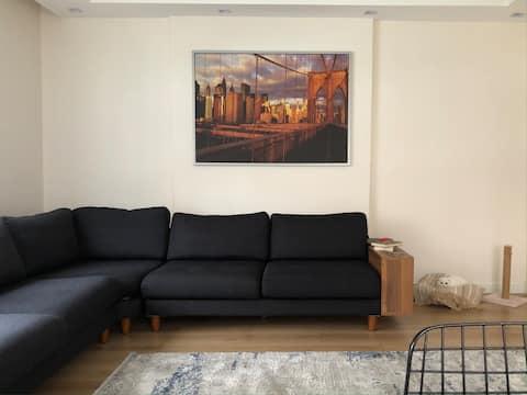 Temiz kullanışlı apartman dairesi(özel oda)