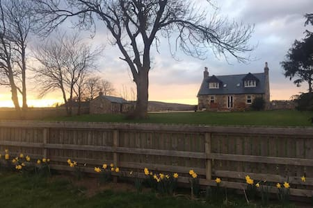 Double room with countryside views! - Forres - Haus