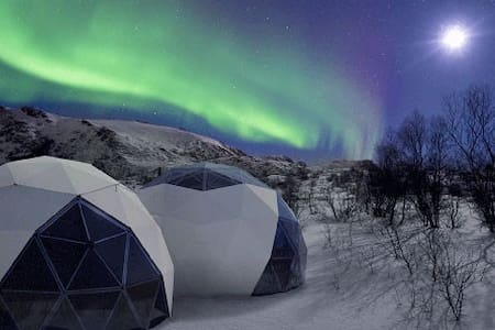 Glamping in Norway - Visit Dome
