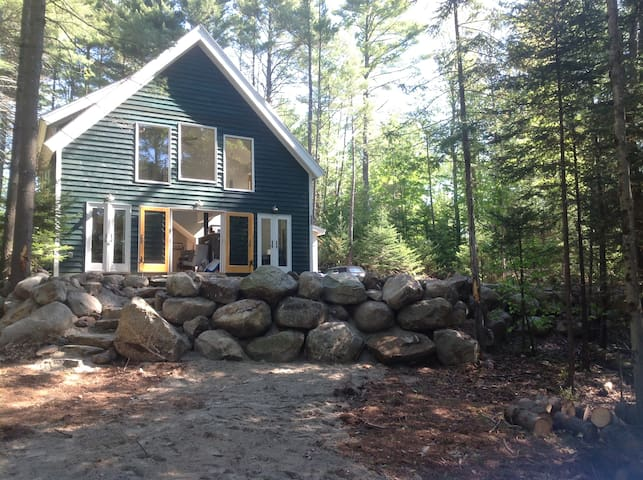 Adirondack Cabin near Gore Mountain Skiing - Wevertown - Rumah