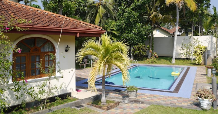 ⭐️  Wonderful stay in typical Sri Lankan Caro Villa