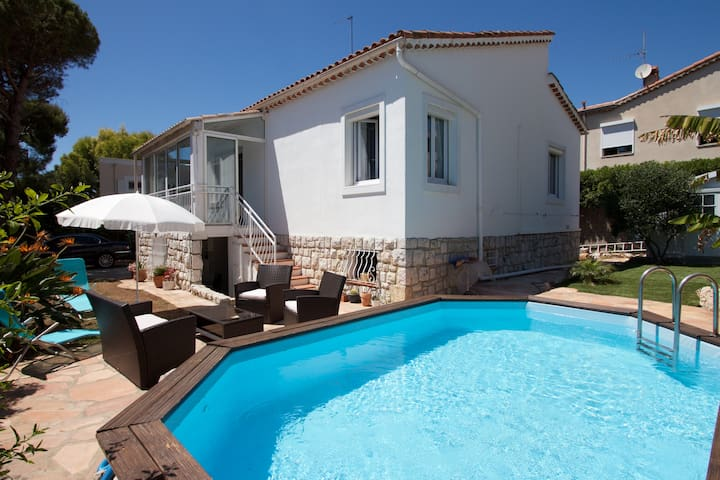 Cosy house, seaview and pool - Nice - House
