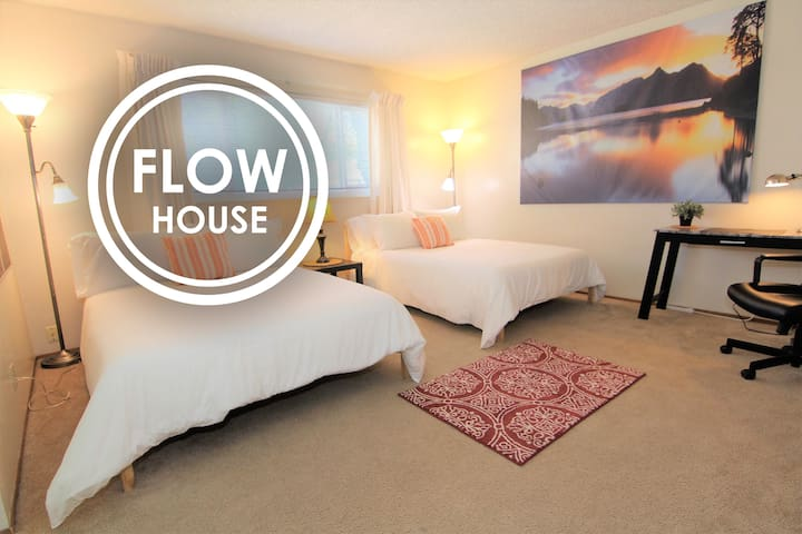 FLOW HOUSE | Founder's Master Bedroom w Private Ba