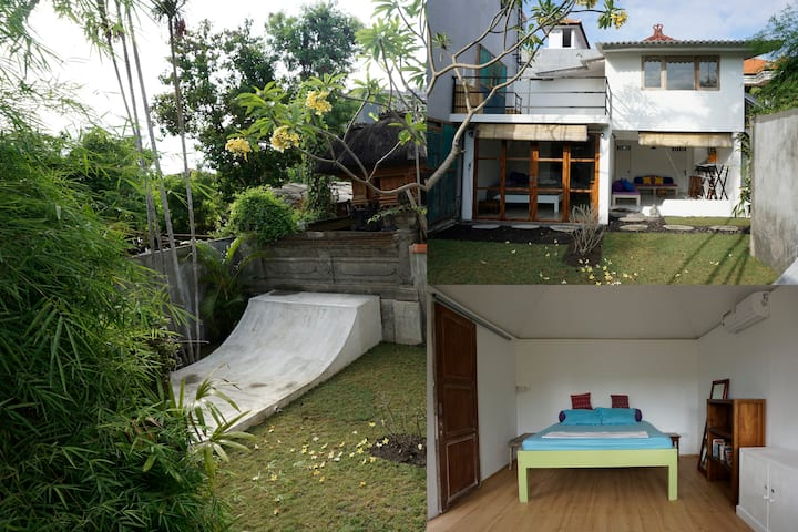 2.5 mil IDR/month/Private Room&balcony/AC/Seminyak