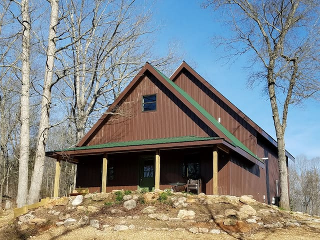 New loft cabin on Meramec River