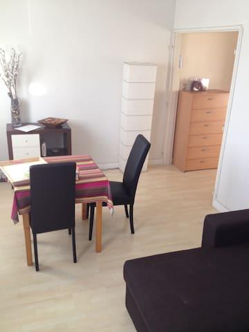 T2 50m rdc quartier calme avec parking - Poitiers - Apartamento
