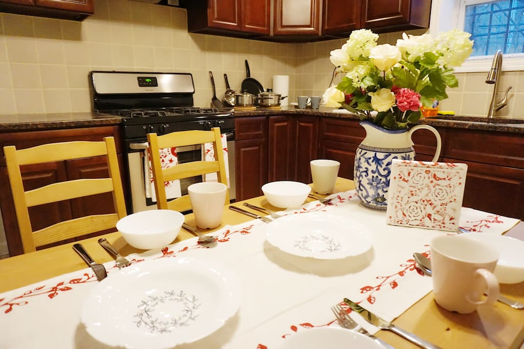 Kitchen & Dining Room - 1FL