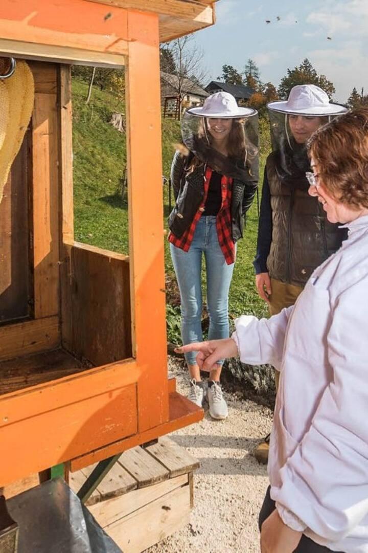 At Ambrozic beekeepers